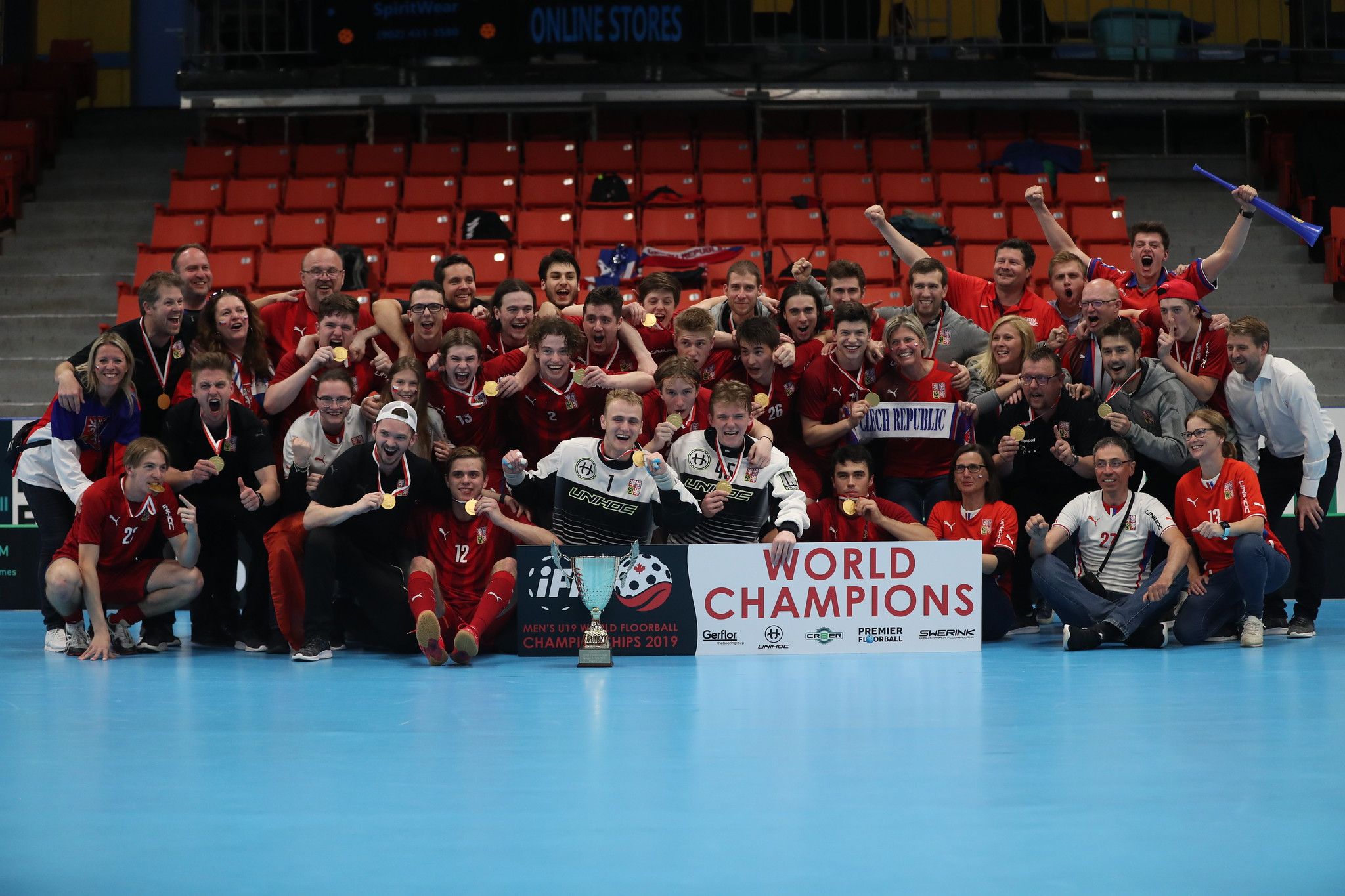 Czech Republic are the Men's U19 World Floorball Champions