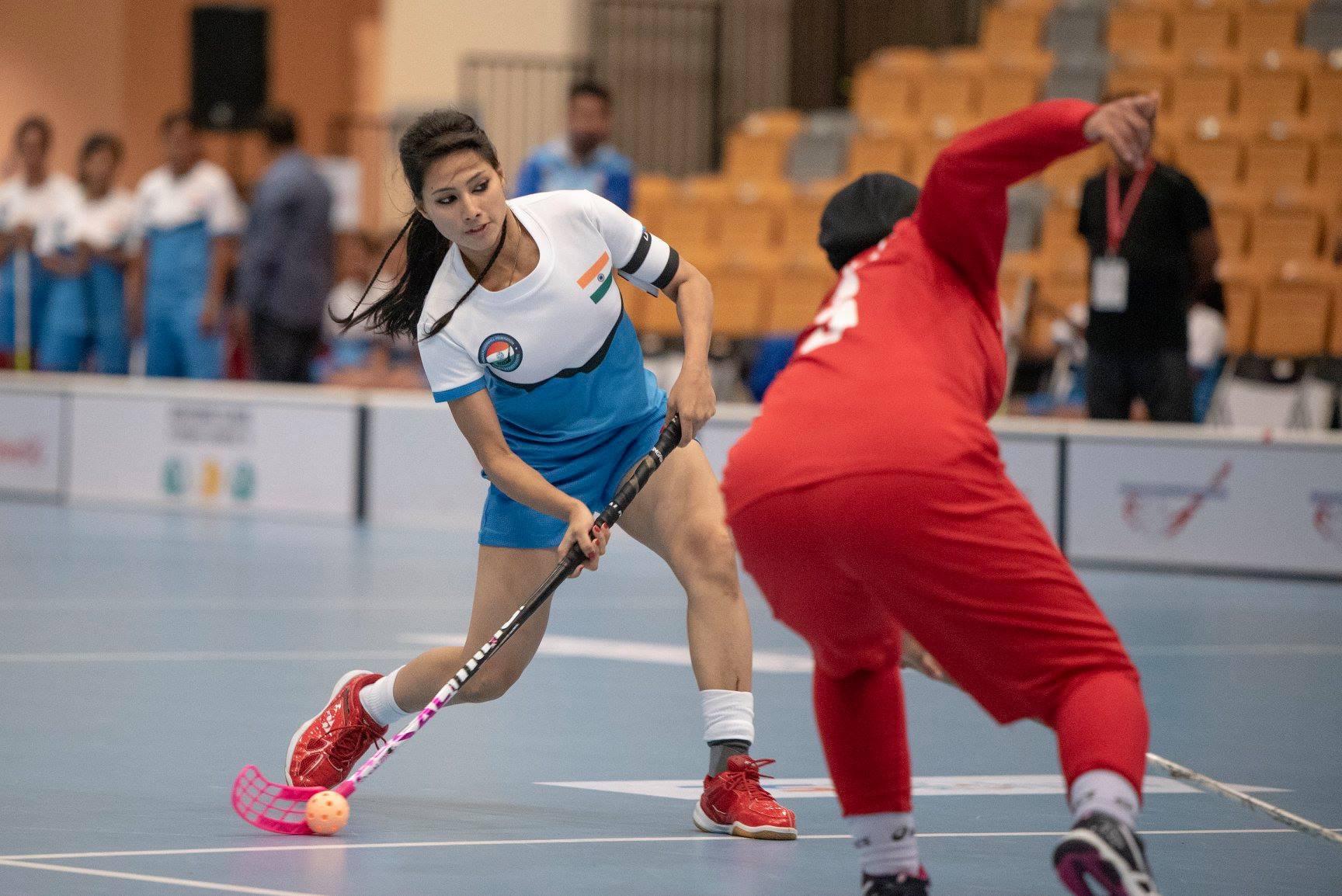 Indiana Sangeeta Rathi vence mundial freestyle floorball 2020