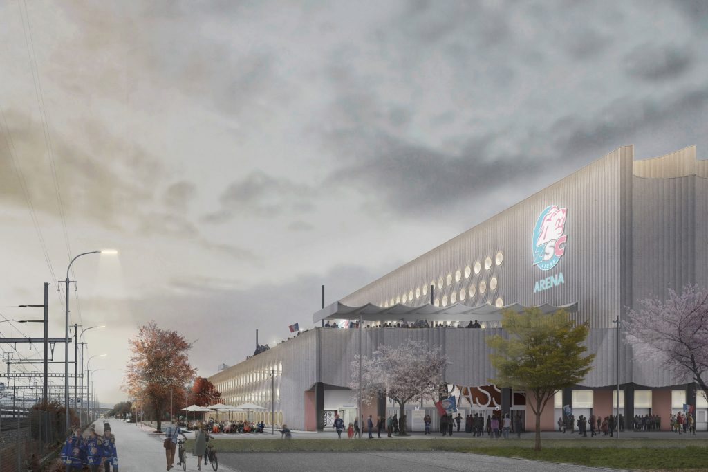 Visualisierung ZSC Swiss Life Arena